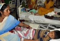 Sixty children die in Indian hospital amid row over oxygen supplies