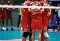 صعود مقتدرانه والیبال ایران به مسابقات قهرمانی جهان