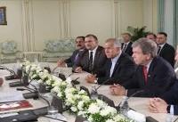 دیدار سناتورهای آمریکایی با سرکرده منافقین در آلبانی