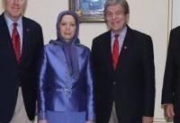 دیدار سناتورهای آمریکایی با «مریم رجوی»