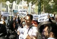 اعتراض متقاضیان مسکن مهر پردیس  به معرفی مجدد  آخوندی