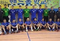 تیم ملی هندبال ایران برابر قهرمان آفریقا شکست خورد