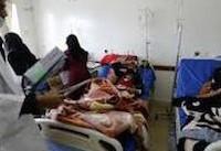شمار مبتلایان به وبا در یمن از نیممیلیون تن گذشت