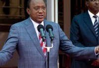 Kenyan president urges peace as capital resumes normal life
