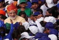 Modi urges India to reject violence in name of religion