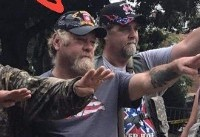 White Supremacist In Charlottesville Wearing 82nd Airborne Hat Gets Called Out... By 82nd Airborne