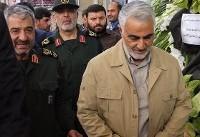 حضور فرزند ارشد رهبر انقلاب در مراسم شهید حججی + عکس