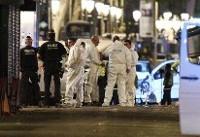 حملات زنجیرهای داعش در اسپانیا/۱۳ کشته و ۱۰۰ زخمی/ ۵ تروریست کشته شدند