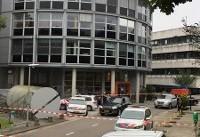 گروگانگیری در ساختمان ایستگاه رادیویی در هلند+تصاویر