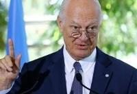 ابراز امیدواری دیمیستورا به برگزاری مذاکرات صلح سوریه در ماه اکتبر