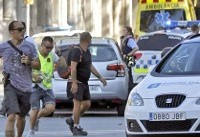 گزارش یک حمله ترورریستی در بارسلون | ۲ کشته و ۱۷ زخمی