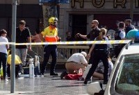 American Among 14 Dead in Spanish Terror Attacks