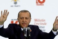 Erdogan tells Turks in Germany to vote against Merkel