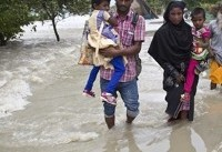 شمار تلفات سیل در هند به ۱۲۷ نفر رسید