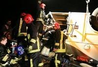 واژگونی ۲ دستگاه اتوبوس در جاده های کشور/ ۵۸ تن کشته و مصدوم شدند