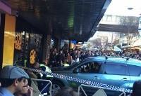 ورود خودرو به میان جمعیت شهر سیدنی/ شماری زخمی شدند