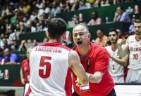 بسکتبال کاپ آسیا؛ رویارویی ایران با کره برای رسیدن به فینال