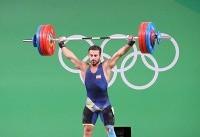 حضور وزنهبرداران المپیکی در تیم بیمهرازی قطعی شد