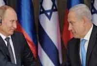 دیدار و گفتگو پوتین و نتانیاهو در شهر سوچی