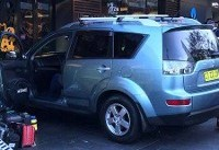 عکس/ حمله یک خودرو به عابران پیاده در استرالیا