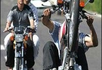 قانون زیر چرخ موتورسواران متخلف