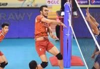 پیروزی قاطع نوجوانان والیبال ایران برابر مکزیک