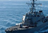 U.S. warship collides with merchant vessel east of Singapore