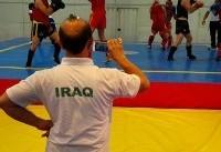 حضور تیم ملی عراق در تمرینات تیم ملی ووشو ایران