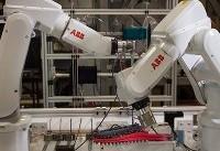 تولید کفش در ۶ دقیقه توسط ربات هوشمند
