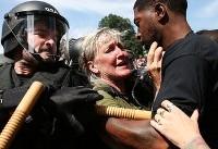 تشدید تنشها بین نژادپرستان آمریکا و مخالفان آنها