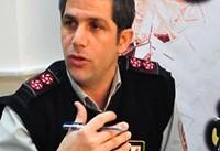مهار آتشسوزی پاساژی در بازار تهران