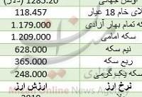 سکه تمام اُفت کرد/ دلار ارزان شد+ جدول قیمت