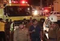 وقوع آتشسوزی در هتلی در مکه