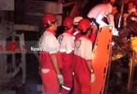 تصادف مرگبار اتوبوس و تریلی در طبس