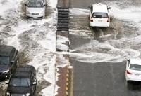 بارش شدید باران در مکه (+عکس)