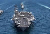 توقف عملیات نیروی دریایی آمریکا در جهان