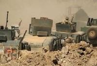 تسلط نیروهای عراقی بر محله «الکفاح» در تلعفر