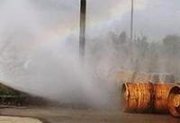 نشت گاز کلر در یک بارانداز