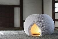 ساخت چایخانه تمام کاغذی در ژاپن+عکس
