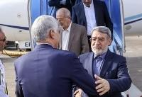 سفر وزیر کشور به شیراز (عکس)