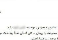 سپردههای یک موسسه دست دلالان افتاد +سند