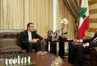 تاکید جابری انصاری بر آمادگی ایران برای توسعه همهجانبه روابط با لبنان