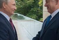 نتانیاهو در دیدار با پوتین: ایران خطری جدی برای کل جهان است