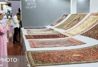 افتتاح بیست و ششمین نمایشگاه فرش دستباف ایران (عکس)