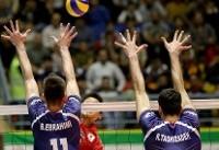 پیروزی ایران بر تیم بیشکست روسیه/والیبالیستهای جوان صعود نکردند