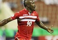 گادوین منشا بهترین بازیکن مرحله نیمه نهایی لیگ قهرمانان آسیا شد