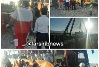 واژگونی مرگبار اتوبوس دانش آموزان دختر