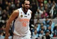عکس/ جایزه ارزشمندترین بازیکن بسکتبال کاپ آسیا