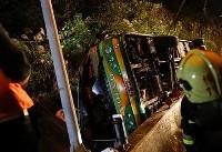 آمارهای معاون عملیات اوژانس کشور از حادثه اتوبوس دانش آموزان