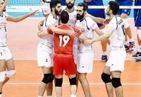 والیبال جام قهرمانان بزرگ؛ پیروزی ایران در نخستین گام برابر ایتالیا